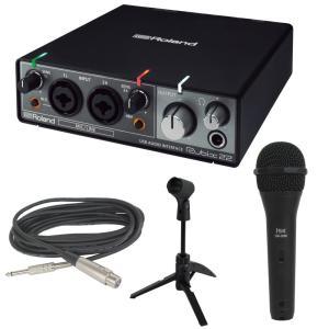 ROLAND Rubix22 USB オーディオインターフェイス ISK DM-3600 ケーブル付...
