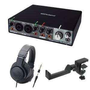 ROLAND Rubix24 オーディオインターフェイス AUDIO-TECHNICA ATH-M2...