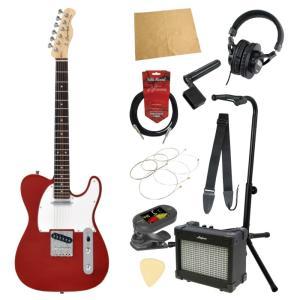 エレキギター入門11点セット BACCHUS BTC-1R CAR|chuya-online