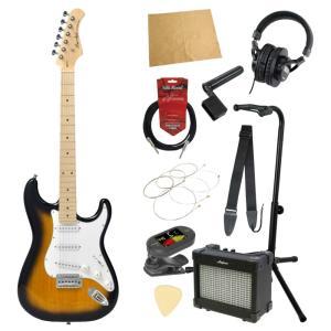 エレキギター入門11点セット BACCHUS BST-1M 2TS|chuya-online