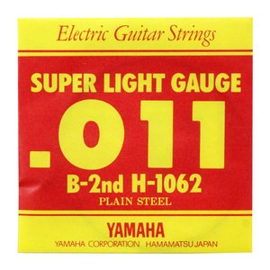 YAMAHA H1062 エレキギター用 バラ弦 2弦×3本...