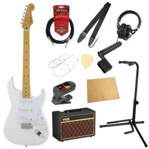 フェンダーから始める!大人の入門セット Fender Made in Japan Traditional '50s Stratocaster AWT エレキギター VOXアンプ付 11点セット|chuya-online