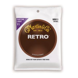 MARTIN MM11 Retro Acoustic Monel Nickel Custom Lig...