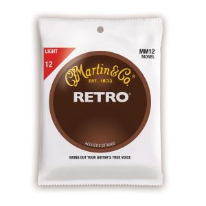 MARTIN MM12 Retro Acoustic Monel Nickel Light アコース...