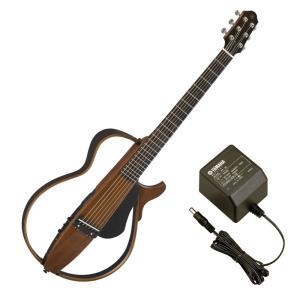 YAMAHA SLG200S NT サイレントギター PA-3C 電源アダプター付き