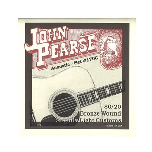 John Pearse String 170C アコースティックギター弦 11-52×3セット