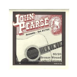 John Pearse String 170C アコースティックギター弦 11-52×6セット