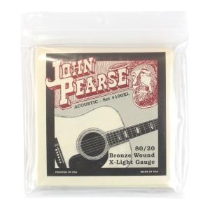 John Pearse String 100XL アコースティックギター弦 10-47×6セット