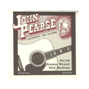 John Pearse 310NM アコースティックギター弦 13-55×3セット