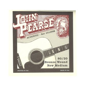 John Pearse 310NM アコースティックギター弦 13-55×6セット