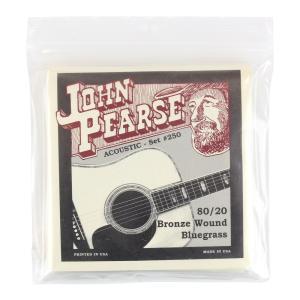 John Pearse 250LM アコースティックギター弦 12-56×6セット