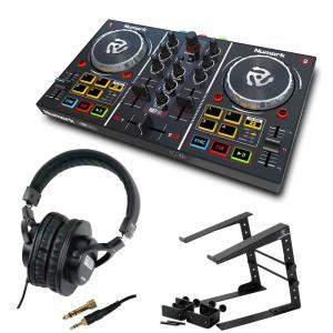Numark Party Mix DJコントローラー LPS-002 ラップトップスタンド SD GAZER SDG-H5000 ヘッドフォン 3点セット chuya-online.com