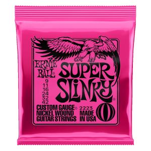 ERNIE BALL 2223/Super Slinky×6SET エレキギター弦|chuya-online