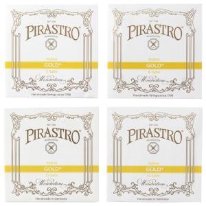 PIRASTRO Gold 4/4サイズ用バイオリン弦セット E線ボールエンド