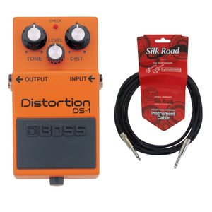 BOSS DS-1 Distortion 3Mシールドケーブル付き ディストーション エフェクター