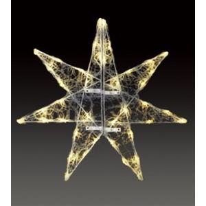 【 LED クリスタルグロー セパレーツギャラクシー (ウォームホワイト) 】 防雨仕様 クリスマス イルミネーション|chw