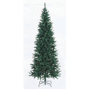 スリムパインツリー(69363)H200・W90・スタンドW36 輸入 クリスマスツリー|chw