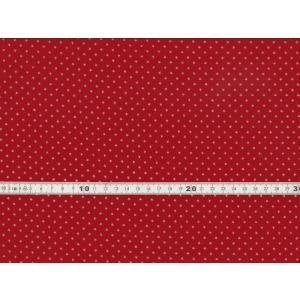 【送料無料】クリスマス生地 ラメ スター 星柄 プリント レッド シーチング生地 h7021-1b chw