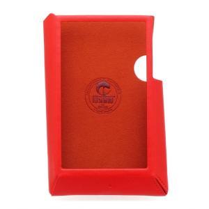Astell&Kern AK300専用 PUレザーケース レッド  [AK300-CASE-RED]|chy