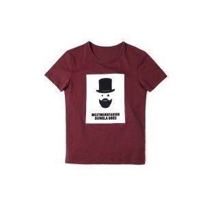 半袖Tシャツ  メンズ カジュアル Uネック 丸首 デザイン レッド ブラック ホワイト 赤 黒 白 S6251|chy