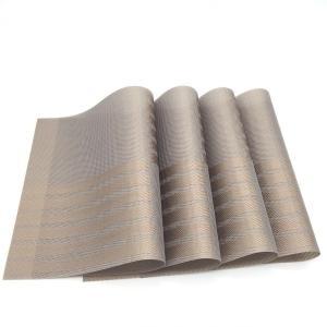 4枚セット ランチョンマット 高品質 和風 プレースマット テーブルマット 食卓 上品 雰囲気 PVC製 家庭 レストラン用|chy