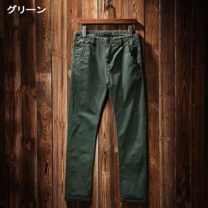 【ファイナルセール】Fudoo チノパン メンズ スキニー カラーパンツ ロングパンツ SA1311 4color|chy