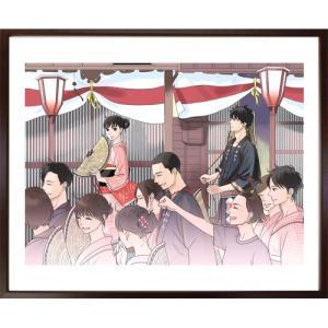 「坂道のアポロン」映画化記念!小玉ユキ先生直筆サイン入り超高画質複製原画プリマグラフィ「月影ベイベB」(サイズ中)|ciao-shop