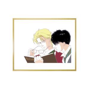 吉田秋生先生超高画質複製原画プリマグラフィ「BANANA FISH D」(サイズ八つ切、カラー)|ciao-shop