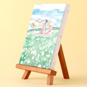 岩本ナオ先生「マロニエ王国の七人の騎士」イーゼル付きキャンバスアートB(中)|ciao-shop|02