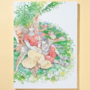 岩本ナオ先生「マロニエ王国の七人の騎士」キャンバスアートC(大)|ciao-shop