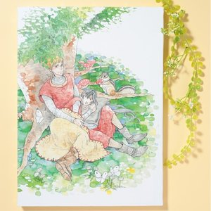 岩本ナオ先生「マロニエ王国の七人の騎士」キャンバスアートC(大)|ciao-shop|04