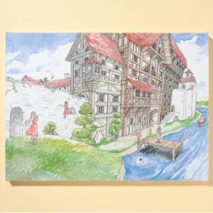 岩本ナオ先生「マロニエ王国の七人の騎士」キャンバスアートD(大)|ciao-shop