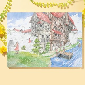 岩本ナオ先生「マロニエ王国の七人の騎士」キャンバスアートD(大)|ciao-shop|04