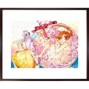 佐野愛莉先生直筆サイン入り超高画質複製原画プリマグラフィ「幼なじみと、キスしたくなくない。A」(サイズ中)|ciao-shop