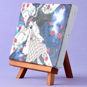 くまがい杏子先生「チョコレート・ヴァンパイア」イーゼル付きキャンバスアートA(中)|ciao-shop|03