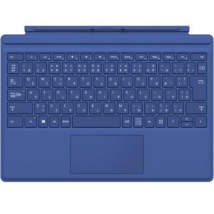 Microsoft 純正 Surface pro4用 タイプカバー ブルー QC7-00072 TYPECOVER キーボード SURFACEPRO4