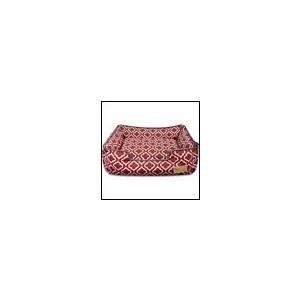 洗える犬のベッド P.L.A.Y. ラウンジベッド モロッカン ワインレッド プレイ|ciera