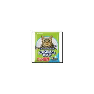 猫砂 オシッコのあとに香る砂 せっけんの香り 5L ユニ・チャーム ペットケア ciera