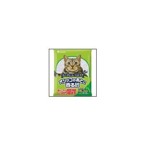 猫砂 オシッコのあとに香る砂 森の香り 5L ユニ・チャーム ペットケア ciera