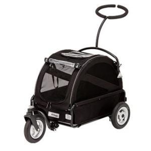 犬用カート エアバギー フォードッグ Air Buggy キューブシリーズ トゥインクル ブラック|ciera|02
