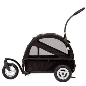 犬用カート エアバギー フォードッグ Air Buggy キューブシリーズ トゥインクル ブラック|ciera|03
