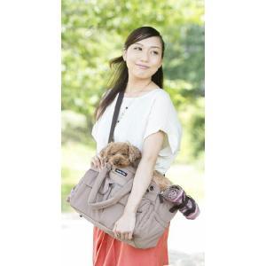 犬のキャリーバッグ ハンナフラ ボンディング 2WAYキャリーバッグ S ネイビー Hanna Hula|ciera|04