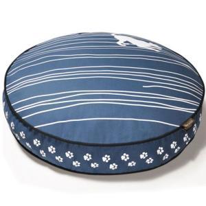 洗える猫のベッド P.L.A.Y. ラウンドベッド ドッグオンワイヤー ブルー|ciera|02