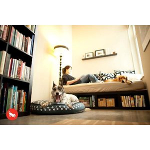 洗える猫のベッド P.L.A.Y. ラウンドベッド ドッグオンワイヤー ブルー|ciera|06