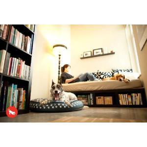 洗える猫のベッド P.L.A.Y. ラウンドベッド ドッグオンワイヤー アーモンド ciera 06