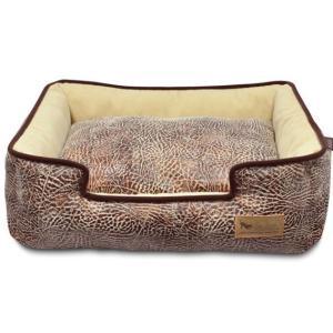洗える猫のベッド P.L.A.Y. ラウンジベッド サバンナ チョコレート|ciera|02