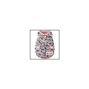 犬の服 春 夏 新作 クールフラワーデニムタンクトップ ピンク Appleapple アップルアップル 洋服 ドッグウェア|ciera
