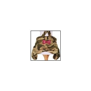 犬の服 春 夏 新作 クークチュール アロマ・デュ・ワン カモフラかぼちゃパンツ ベージュ aroma de wan 洋服 ドッグウェア|ciera