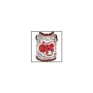 犬の服 春 夏 新作 キノコパッチタンク ピンク beache ビーチェ 数量限定品 タンクトップ 洋服 ドッグウェア ciera