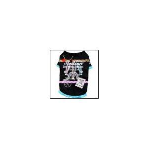 犬の服 春 夏 新作 インディアンTEE ブラック beache ビーチェ 数量限定品 Tシャツ 洋服 ドッグウェア ciera